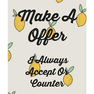 Accessories - Make A Offer